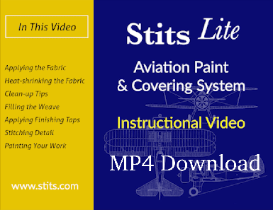 Stits Covering and Paint System MP4 Video Downloadable
