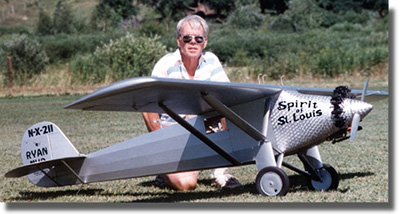 Crew Member - 1/4 Scale Spirit of Saint Louis