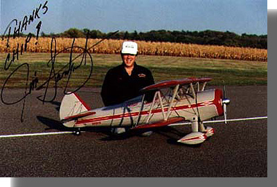 Crew Member - 1/4 Scale Super Stearman